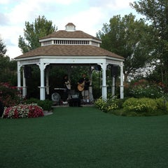 Photo taken at Bridges of Poplar Creek Country Club by Kari on 8/8/2013