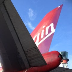 Photo taken at Virgin Atlantic Flight VS45 by Paul S. on 12/15/2012