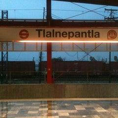 Photo taken at Tren Suburbano Tlalnepantla by Hector on 4/25/2013