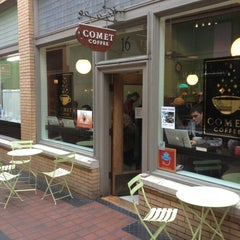 Photo taken at Comet Coffee by Jonathan W. on 11/4/2012