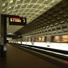 Photo taken at McPherson Square Metro Station by Manny V on 2/17/2013