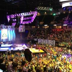 Photo taken at Bryce Jordan Center by Bobby on 2/17/2013