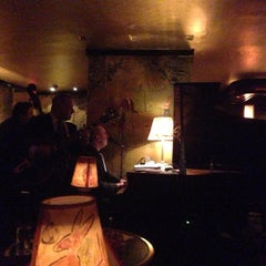 Photo taken at Bemelmans Bar by Mary B. on 4/21/2013