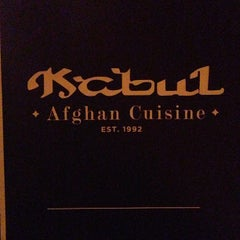 Photo taken at Kabul Afghan Cuisine by Pedro A. on 1/25/2013