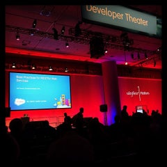 Photo taken at San Francisco's Moscone Center by Diego A. on 11/19/2013
