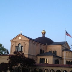 Photo taken at Franciscan Monastery of the Holy Land in America by Eric W. on 4/6/2012