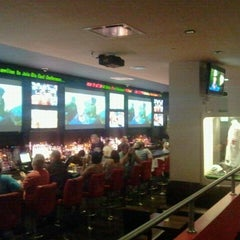 Photo taken at Bowlmor Times Square by The Official Khalis on 9/25/2011