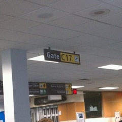 Photo taken at Gate C17 by Dawn H. on 9/17/2011
