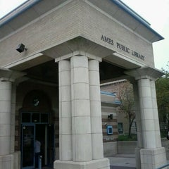 Photo taken at Ames Public Library by Darlene S. on 8/18/2012