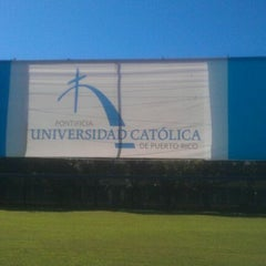 Photo taken at Pontificia Universidad Católica De Puerto Rico by vlad m. on 12/5/2011