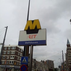 Photo taken at Metrostation Delfshaven by Martijn K. on 6/27/2012
