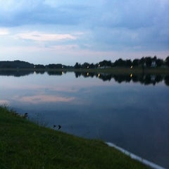 Photo taken at Lake Montebello by Andy G. on 8/10/2012