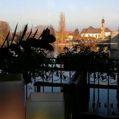Photo taken at Brückeneck by Peter S. on 11/13/2011