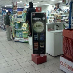 Photo taken at Farmacias Ahumada by Miguel Ignacio .. on 7/26/2011