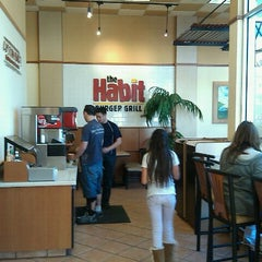 Photo taken at The Habit Burger Grill by Doug C. on 2/12/2011