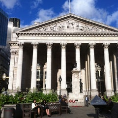 Photo taken at The Royal Exchange by Jill Q. on 8/11/2011