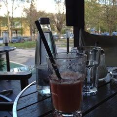 Photo taken at Gussto Cafe by Георги К. on 4/21/2012