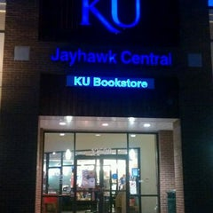Photo taken at KU Bookstore by Sonia S. on 1/30/2012