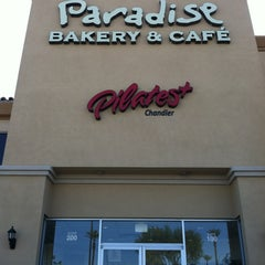 Photo taken at Paradise Bakery & Café by Kimberly A. on 2/26/2012