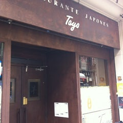 Photo taken at Toyo by Vanessa L. on 4/12/2012