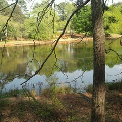 Photo taken at Park at Hairston by Amanda J. on 3/29/2012