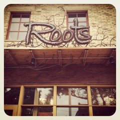 Photo taken at Roots Restaurant and Cellar by Sugar J. on 7/17/2012