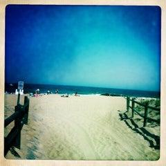 Photo taken at Manasquan Beach by Becki R. on 7/1/2011