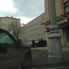 Photo taken at Гимназия №1518 by Simona T. on 4/21/2012