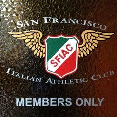 Photo taken at San Francisco Italian Athletic Club by Jeffrey S. on 11/18/2011