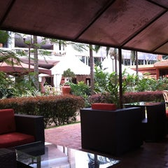 Photo taken at Sheraton Kampala Hotel by ATAKAN on 3/29/2012