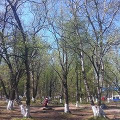 Photo taken at Детский Парк В Ценре by Анастасия Б. on 5/30/2012