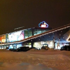 Photo taken at SKY lielveikals by AtputasBazes.lv on 1/6/2011