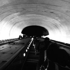 Photo taken at Dupont Circle Metro Station by David K. on 1/28/2012