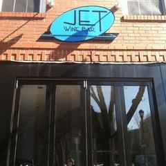 Photo taken at Jet Wine Bar by Adam R. on 4/8/2011