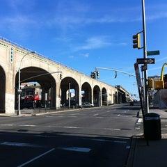 Photo taken at Queens Blvd by Sivamon P. on 1/1/2012