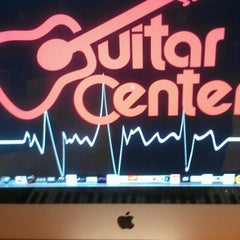 Photo taken at Guitar Center by F. Khristopher B. on 8/21/2012