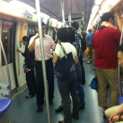 Photo taken at SBS Transit: North East Line (NEL) by WickedWan on 12/30/2011