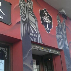 Photo taken at Cervecería Gondor by Salva A. on 9/27/2011