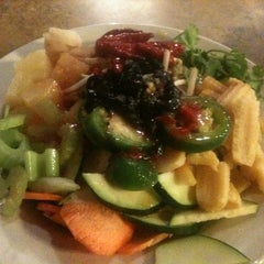 Photo taken at Mongolian Grill San Jacinto by Taylen on 3/12/2012