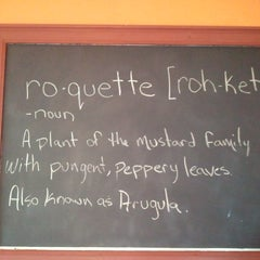 Photo taken at Roquette Burger Bistro by Jason R. on 8/31/2011