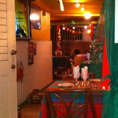 Photo taken at Le Ti Coin Creole by Brian F. on 12/12/2011
