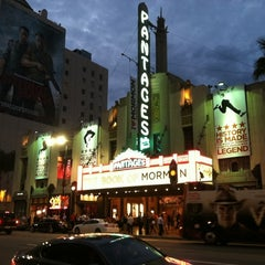 Photo taken at Pantages Theatre by Darin B. on 9/6/2012