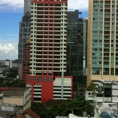 Photo taken at Bandara Suites Silom by Matt H. on 7/13/2012