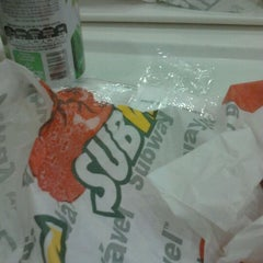 Photo taken at Subway by Samia G. on 12/15/2011