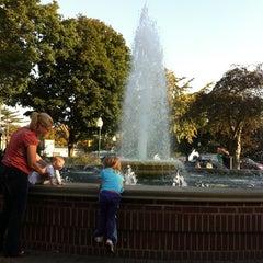 Photo taken at Kellogg Park by Linda L. on 10/5/2011