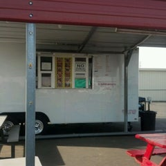 Photo taken at El Super Antojito-Taco Truck by David J. F. on 12/4/2011