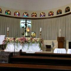 Photo taken at Gereja Santa Theresia by Elliya S. W. on 7/21/2012