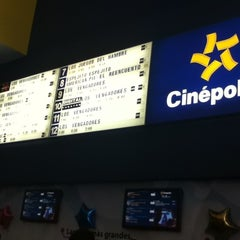 Photo taken at Cinépolis by Andres T. on 5/1/2012