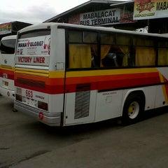 Photo taken at Mabalacat Bus Terminal by Jeric R. on 9/9/2012