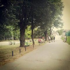 Photo taken at Park Tivoli by Sandra S. on 8/13/2012